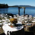 Consider the direction of the sun when planning your outdoor ceremony location.