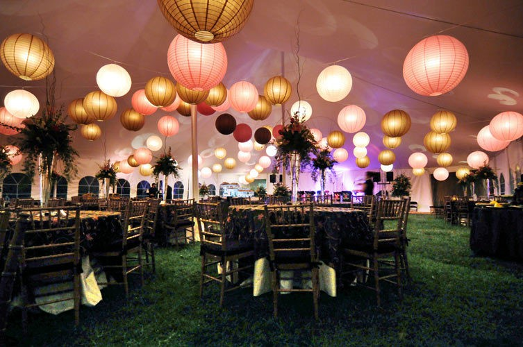 7 Ways to Add Style Under Your Wedding Tent | Lakes Region Tent & Event