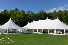 Sailcloth Tents Joined Together