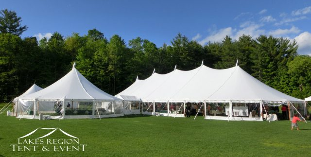 ... Sailcloth Tents Joined Together ... & Sailcloth Tent Rentals NH | Lakes Region Tent u0026 Event