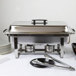 We rent chafing dishes