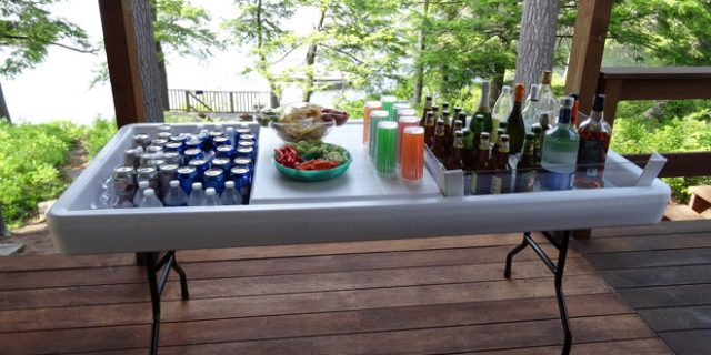 Chill and Fill Table