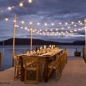 Lake Sunapee Outdoor Dining Event by emily b. Design