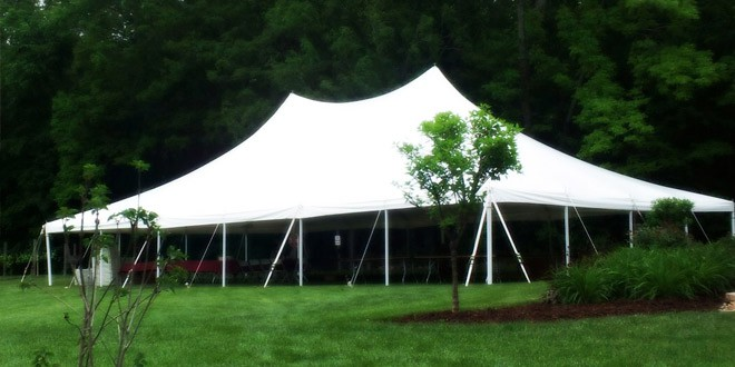 event-tent-rental & Renting a Party Tent: Will Your Site Make the Grade? | Lakes ...