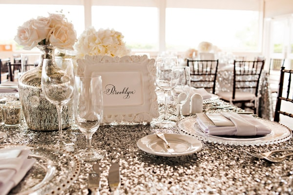 Glimmer Sequin Tablecloth