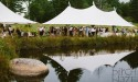 sailcloth tent rental for new hampshire weddings