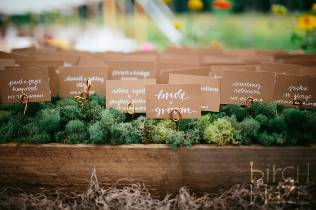 Rustic Seating Chart