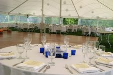 Wedding Reception with Round tables