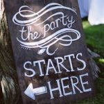 party-sign