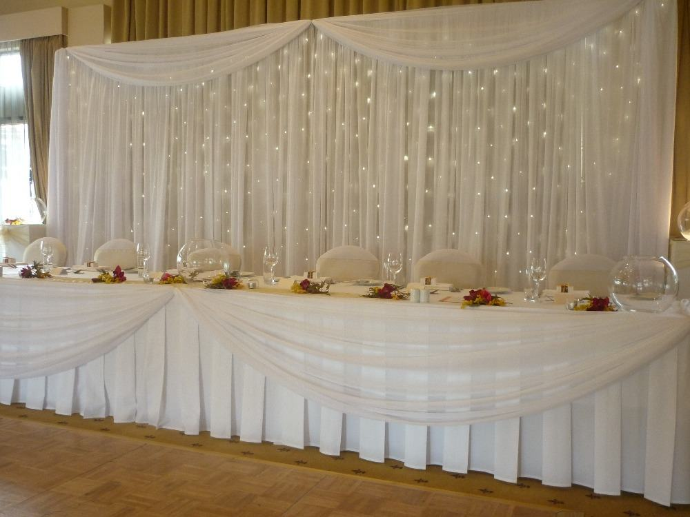 6 Ways to Use Pipe & Drape at Weddings | Lakes Region Tent & Event