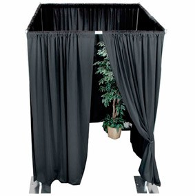 Pipe & Drape Private Enclosures
