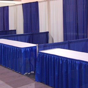Pipe & Drape for Tradeshow Booths