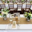 8' banquet tables for weddings