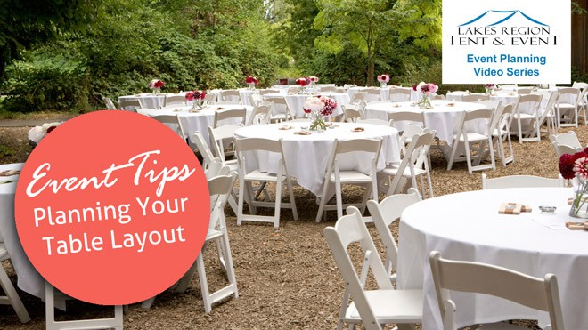 How to Plan a Table Layout