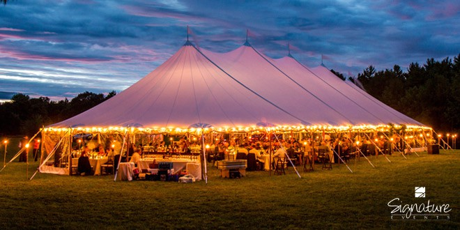 Wedding tent lighting & 6 Lighting Options to Make Your Wedding Tent Sparkle | Lakes ...