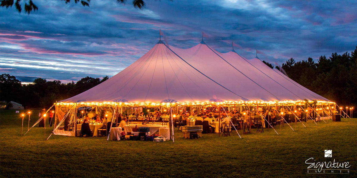 Party Tent Rentals Nh Wedding Tent Rental Lakes Region