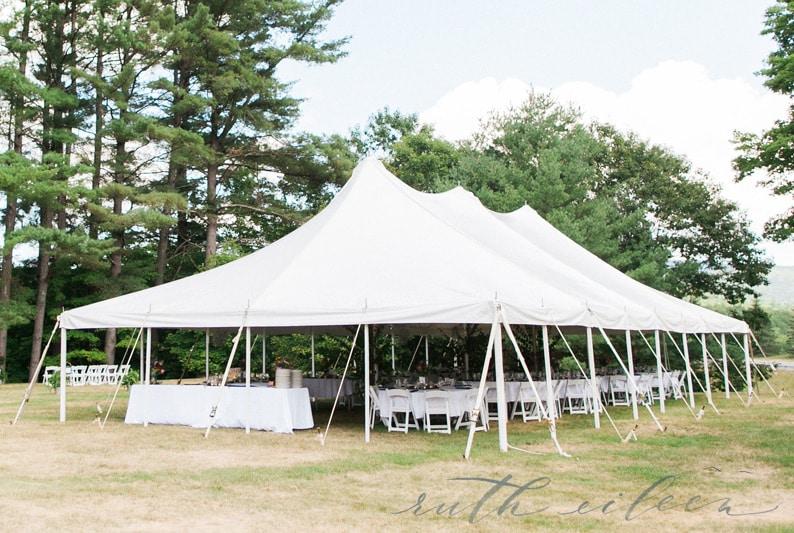 High Peak Pole Tent Rentals NH | Lakes Region Tent & Event