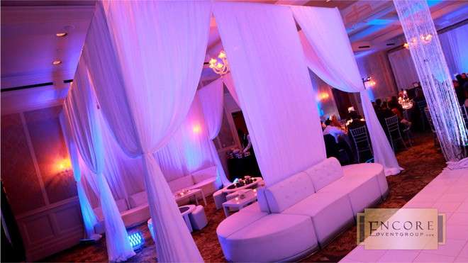 6 Ways To Use Pipe Amp Drape At Weddings Lakes Region Tent