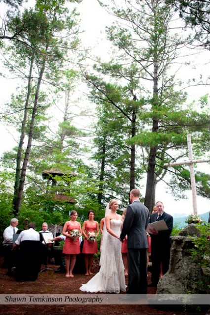 Emily Amp Dustin S Squam Lake Nh Wedding Lakes Region Tent