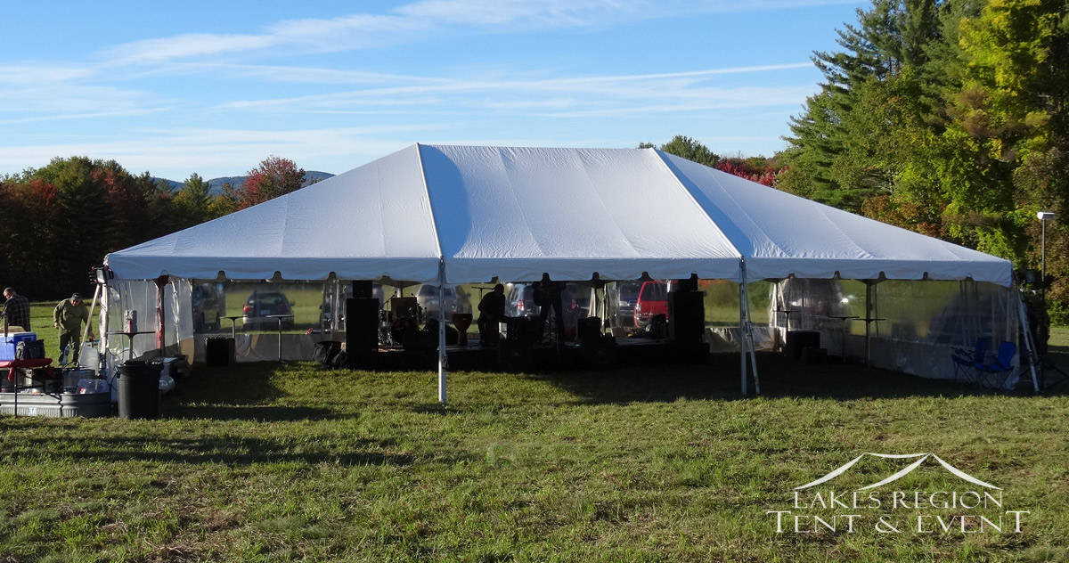 Frame Tent Rentals Nh Lakes Region Tent Amp Event